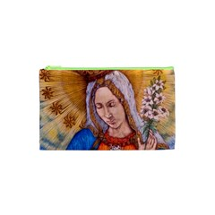 Immaculate Heart Of Virgin Mary Drawing Cosmetic Bag (xs) by KentChua