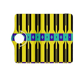 Rhombus and other shapes pattern 			Kindle Fire HDX 8.9  Flip 360 Case by LalyLauraFLM