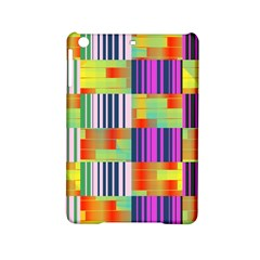 Vertical And Horizontal Stripes 			apple Ipad Mini 2 Hardshell Case by LalyLauraFLM