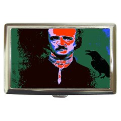 Edgar Allan Poe Pop Art  Cigarette Money Cases by icarusismartdesigns
