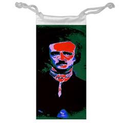 Edgar Allan Poe Pop Art  Jewelry Bags by icarusismartdesigns