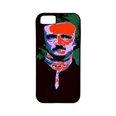Edgar Allan Poe Pop Art  Apple Iphone 5 Classic Hardshell Case (pc+silicone) by icarusismartdesigns