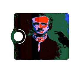 Edgar Allan Poe Pop Art  Kindle Fire Hdx 8 9  Flip 360 Case by icarusismartdesigns