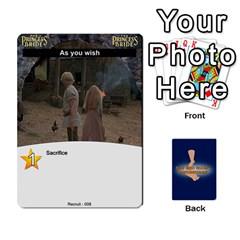 Princess Bride Deck 1 By Felbrigg Herriot   Playing Cards 54 Designs   5rwtrbwhhm3b   Www Artscow Com Front - Spade9
