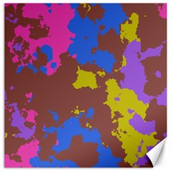 Retro Texturecanvas 16  X 16  by LalyLauraFLM
