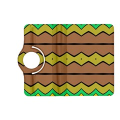 Rhombus And Waves kindle Fire Hd (2013) Flip 360 Case by LalyLauraFLM