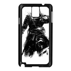 Assassins Creed Black Flag Tshirt Samsung Galaxy Note 3 N9005 Case (black) by iankingart