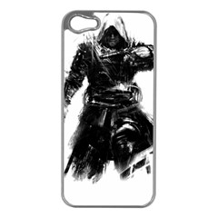 Assassins Creed Black Flag Tshirt Apple Iphone 5 Case (silver) by iankingart