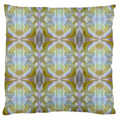 Beautiful White Yellow Rose Pattern Large Cushion Cases (two Sides)  by Costasonlineshop