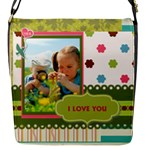 kids - Flap Closure Messenger Bag (S)