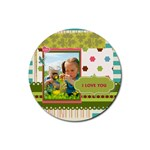 kids - Rubber Coaster (Round)