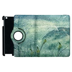 Nature Photo Collage Apple Ipad 3/4 Flip 360 Case by dflcprints