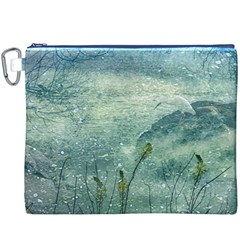 Nature Photo Collage Canvas Cosmetic Bag (xxxl)  by dflcprints