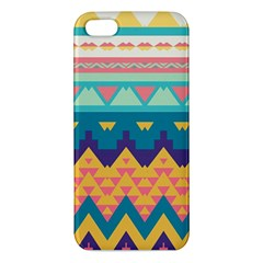 Pastel Tribal Design 			iphone 5s Premium Hardshell Case by LalyLauraFLM