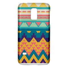 Pastel Tribal Design 			samsung Galaxy S5 Mini Hardshell Case by LalyLauraFLM