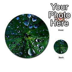 Morning Dew Multi-purpose Cards (Round)  by Costasonlineshop