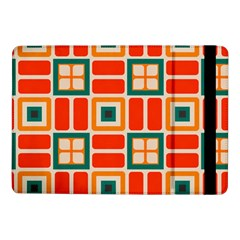 Squares And Rectangles In Retro Colors 			samsung Galaxy Tab Pro 10 1  Flip Case by LalyLauraFLM