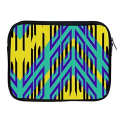 Tribal Angles 			apple Ipad 2/3/4 Zipper Case by LalyLauraFLM