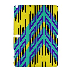 Tribal Angles 			samsung Galaxy Note 10 1 (p600) Hardshell Case by LalyLauraFLM
