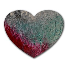 Metallic Abstract 1 Heart Mousepads by timelessartoncanvas