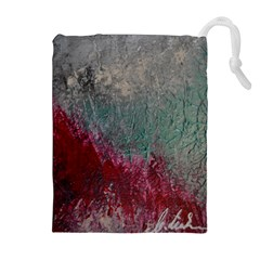 Metallic Abstract 1 Drawstring Pouches (extra Large) by timelessartoncanvas