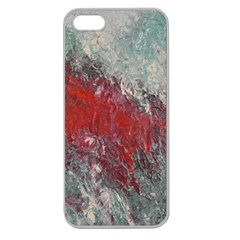 Metallic Abstract 2 Apple Seamless Iphone 5 Case (clear) by timelessartoncanvas