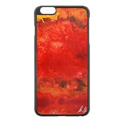 Stone Wall Apple Iphone 6 Plus/6s Plus Black Enamel Case by timelessartoncanvas