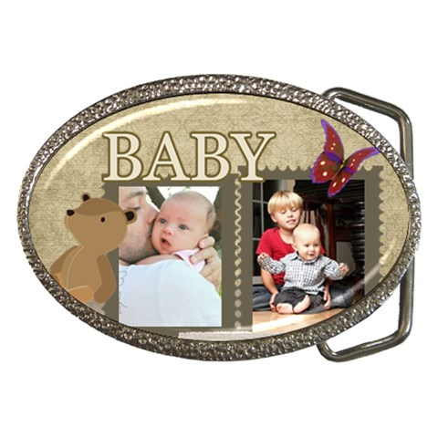 Baby By Baby   Belt Buckle   A2az7ge036n9   Www Artscow Com Front