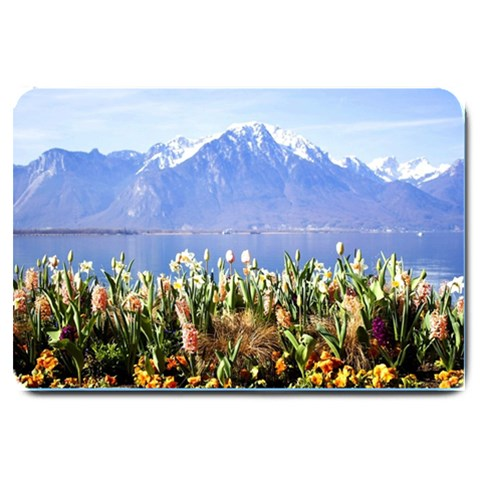 Mountain Flowers  Matching  Doormat Template s Product By Pamela Sue Goforth   Large Doormat   8rr6tqde26pc   Www Artscow Com 30 x20 Door Mat - 1