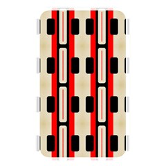 Rectangles And Stripes Pattern 			memory Card Reader (rectangular) by LalyLauraFLM
