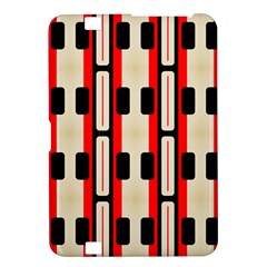 Rectangles And Stripes Pattern kindle Fire Hd 8 9  Hardshell Case by LalyLauraFLM