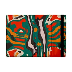 Retro Colors Chaos 			apple Ipad Mini 2 Flip Case by LalyLauraFLM