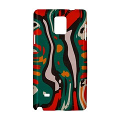 Retro colors chaos 			Samsung Galaxy Note 4 Hardshell Case by LalyLauraFLM