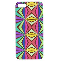 Connected Shapes In Retro Colors  			apple Iphone 5 Hardshell Case With Stand by LalyLauraFLM