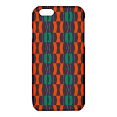 Green orange shapes pattern 			iPhone 6/6S TPU Case by LalyLauraFLM