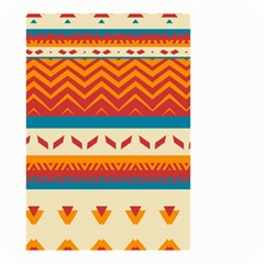 Tribal Shapes  Small Garden Flag by LalyLauraFLM