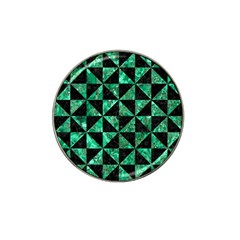 Triangle1 Black Marble & Green Marble Hat Clip Ball Marker (4 Pack) by trendistuff