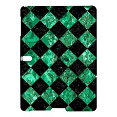 Square2 Black Marble & Green Marble Samsung Galaxy Tab S (10 5 ) Hardshell Case  by trendistuff