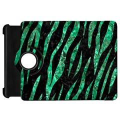 Skin3 Black Marble & Green Marble (r) Kindle Fire Hd Flip 360 Case by trendistuff