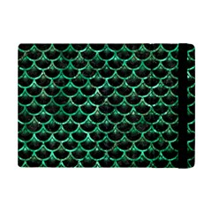 Scales3 Black Marble & Green Marble (r) Apple Ipad Mini 2 Flip Case by trendistuff