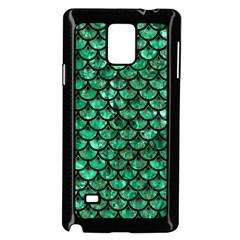 SCA3 BK-GR MARBLE Samsung Galaxy Note 4 Case (Black) by trendistuff