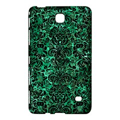 Damask2 Black Marble & Green Marble Samsung Galaxy Tab 4 (7 ) Hardshell Case  by trendistuff