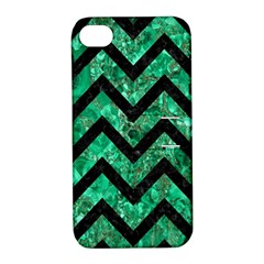 CHV9 BK-GR MARBLE (R) Apple iPhone 4/4S Hardshell Case with Stand by trendistuff