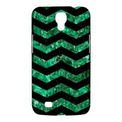 Chevron3 Black Marble & Green Marble Samsung Galaxy Mega 6 3  I9200 Hardshell Case by trendistuff