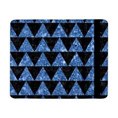 Triangle2 Black Marble & Blue Marble Samsung Galaxy Tab Pro 8 4  Flip Case by trendistuff