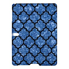Tile1 Black Marble & Blue Marble Samsung Galaxy Tab S (10 5 ) Hardshell Case