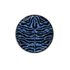 Skin2 Black Marble & Blue Marble (r) Hat Clip Ball Marker (10 Pack) by trendistuff