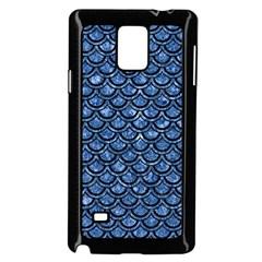 SCA2 BK-BL MARBLE Samsung Galaxy Note 4 Case (Black) by trendistuff