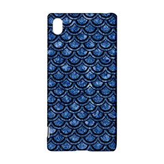 Scales2 Black Marble & Blue Marble Sony Xperia Z3+ Hardshell Case