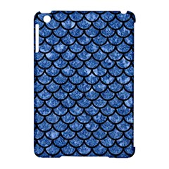 Scales1 Black Marble & Blue Marble Apple Ipad Mini Hardshell Case (compatible With Smart Cover) by trendistuff